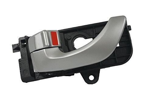 Sentinel Parts Front Left Driver Side Inside Silver Door Handle for 2005-2008 Hyundai Sonata 82610-3K020-XZ