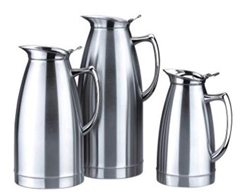 Dienst vacuüm pot staal, RVS melk pot in lege koffie Knus double,slijpen,0.75L
