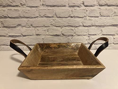 Unbekannt Osterkorb Korb Schale Aufbewahrung Deko aus Holz Brotkorb Holzkorb Holzschale Wohndeko