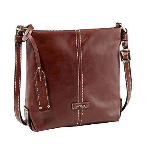 Picard Shoulder Bag Eternity cuir 22 x 24 x 7 cm (H/B/T) Femme sacs à main (4960)
