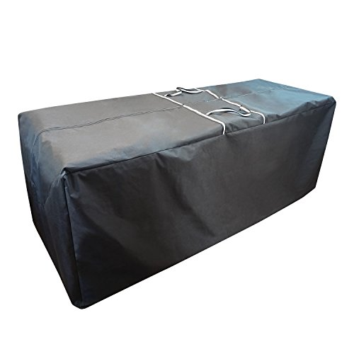 78' L x 30' W x 28' H Oversize Cushions/Covers/Christmas Tree Storage Bag Water Resistant Heavy Duty, Black