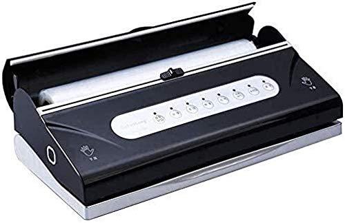 Peelip - Máquina de conservación de vacío automática con manguera de aspiración, rollo con cuchilla de corte en seco, húmedo, modo de alimentos insertados