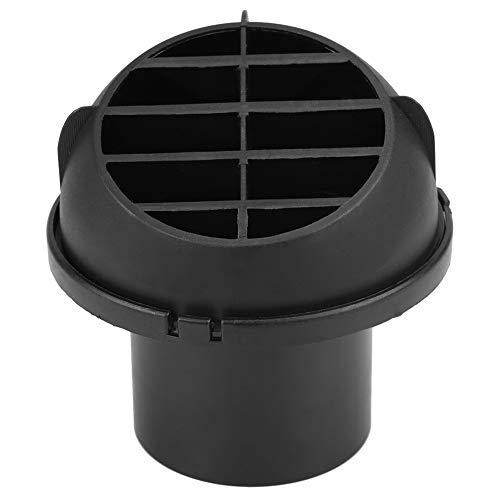 Salida de ventilación del conducto de aire del calentador automático Salida de ventilación del calentador automático de 60 mm que dirige una salida de escape caliente - giratoria 360 grados