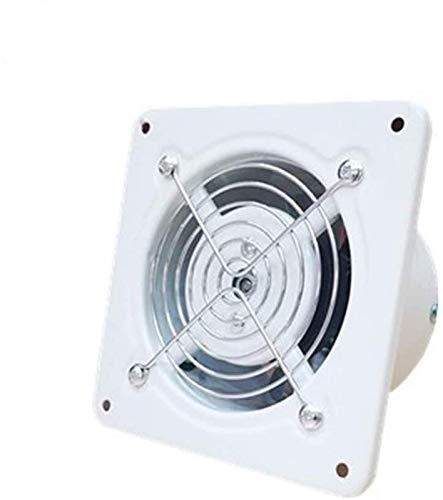 SAIYI Extracción silenciosa Ventilador de ventilación estándar de baño Cocina de Baja energía, Bola de rodamiento Que Funciona el Motor, 130mm * 130mm