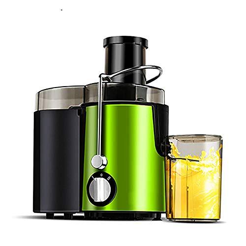 WBHD Entsafter Zentrifugaler Entsafter BPA-freie mit 75 mm großer Einfüllöffnung, 800W Zentrifugaler Entsafter 2 Geschwindigkeitsstufen Juicer für Obst und Gemüse,Edelstahl Einfach zu Reinigen