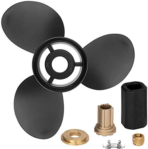 MiBarco 48-832832A45  14 1/4 x 21 (Interchangeable Hub Kits Included) Upgrade Aluminum Outboard Propeller fit Mercury/Mariner,MERCRUISER STERNDRUVES, Alpha,Bravo ONE, 15 Spline Tooth, RH