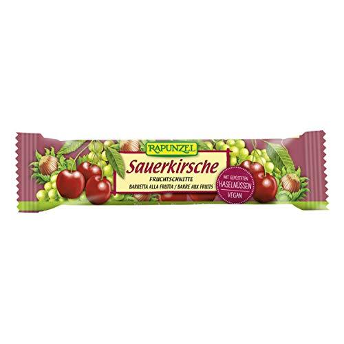 Rapunzel - Fruchtschnitte Sauerkirsche - 40 g - 25er Pack