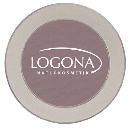 LOGONA Naturkosmetik Eyeshadow Mono No. 01 Taupe, Natural Make-up, Lidschatten, mit Anti-Aging-Wirkstoffen, dezenter Schimmereffekt, Bio-Extrakte, Vegan, 2 g