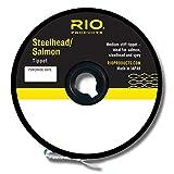 Río Pesca con Mosca Tippet salmón/Steelhead Tippet 30YD 4,5kg Pesca Tackle, Glacial Verde