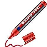 Edding 300 marcador permanente - rojo - 1...