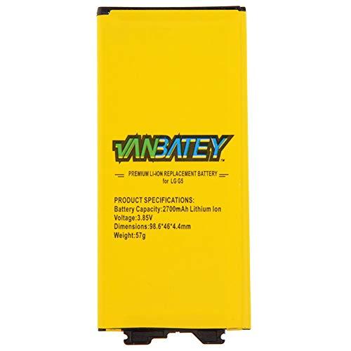 Vanbatey Batería para LG G4 3000 mAh Batería interna de iones de litio Polímero Original Compatibilidad con H810 H811 H812 H815 VS986 LS991 US991 (LG G5)