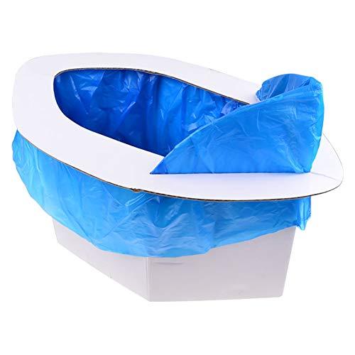 Yangxue, toilette portatile pieghevole salvaspazio forte e durevole per rimuovere gli odori di traffico, marmellata, auto comoda, autoguida, attività all'aperto pulite