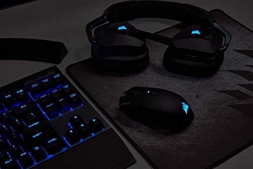 Corsair Harpoon Kabellose RGB Wiederaufladbare Optisch Gaming-Maus (mit SLIPSTREAM Technologie, 10.000DPI Optisch Sensor, RGB LED Hintergrundbeleuchtung) schwarz - 12