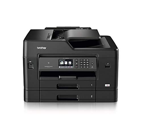 Brother MFC-J6930DW A3 Colour Inkjet Printer, Wireless, PC Connected, Network and NFC, Print, Copy, Scan, Fax and 2 Sided Printing, 2 Paper Trays