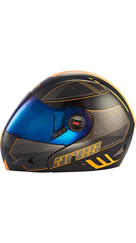 Steelbird Mens ISI Certified Off Road Racing Graphics Helmet - SB-41 Ares...