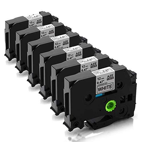 Preisvergleich Produktbild Unistar Kompatibel Schriftband als Ersatz für Brother TZe-231 TZ-231 schwarz auf weiß 12mm 0.47 Breit x 8m Länge