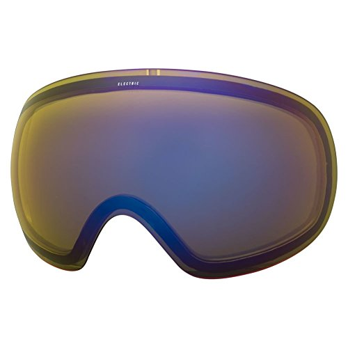 Elektrische EG3Objektiv Skibrille, Herren, Yellow/Blue Chrome