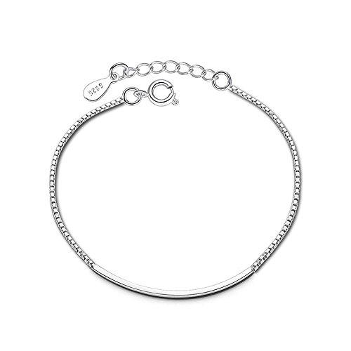 Daeou armbanden voor dames, handring, accessoires, box, ketting, armband, vrouwelijk, anti-allergische zilveren armband