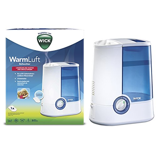 Wick WH750DA - Humidificador, color blanco