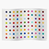 Bargaineddeals Hirst Colorful Pop Damien Art Spots Home