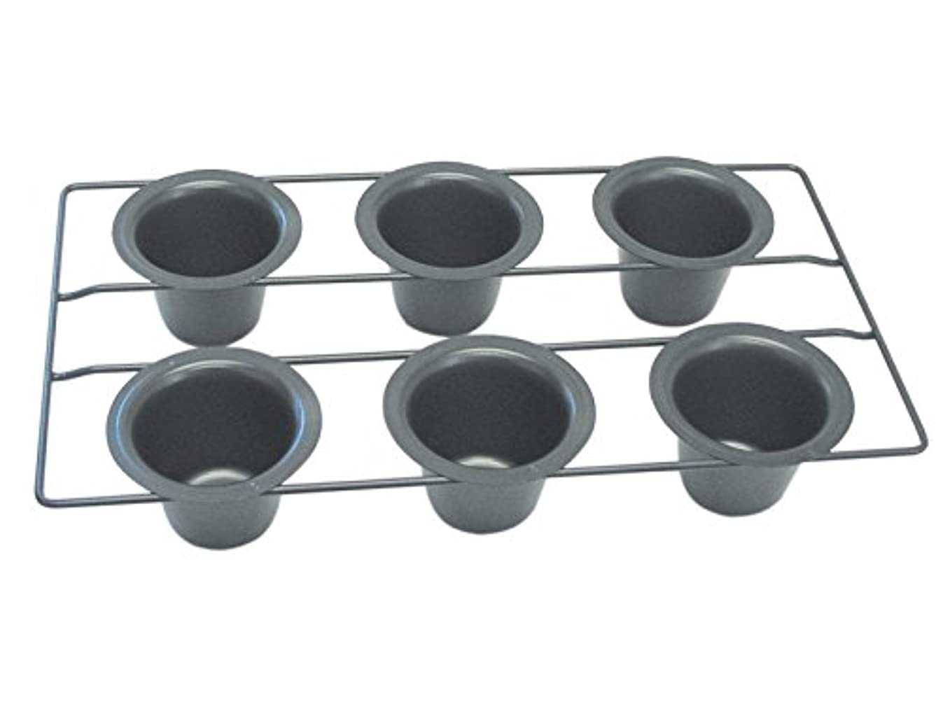 R&M International 2391 Non-Stick 6-Cup Popover Pan