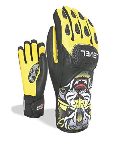 Level Gants De Ski Junior's Sq CF Yellow