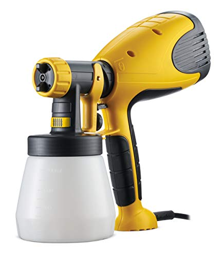 Wagner W 100 Wood y metal Sprayer W 100, 1 pieza, Negro y Amarillo, 2361507