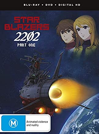 宇宙戦艦ヤマト2202 愛の戦士たち コンプリートセット パート1(第1話-13話)[Blu-ray+DVD リージョンA/1](輸入版)