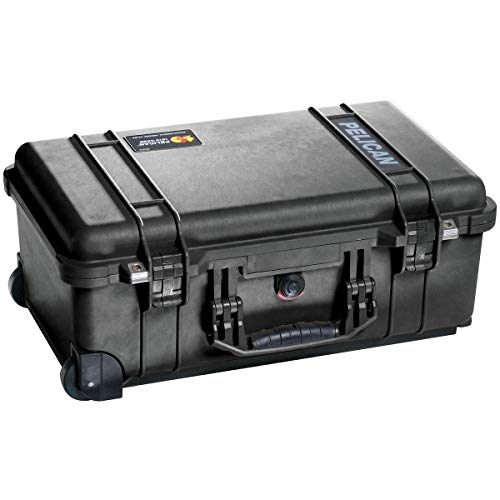 Pelican 015100-0050-110 Protector Carry-On Case Black w/TrekPak Insert