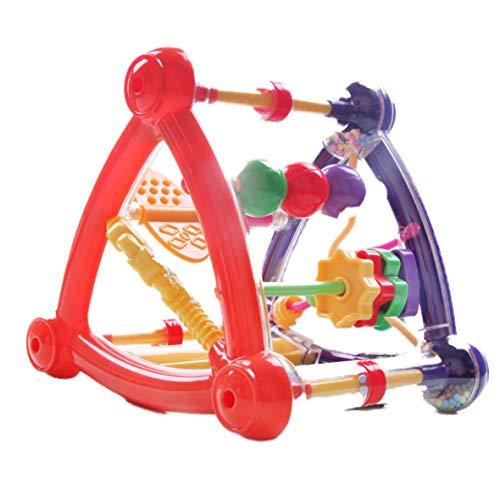 Cosye Para bebés de 0 a 12 Meses, Cubo de Juego de Actividades, Desarrollo Infantil, Juguetes educativos Colgantes, sonajero de Juguete para recién Nacidos, niño y niña