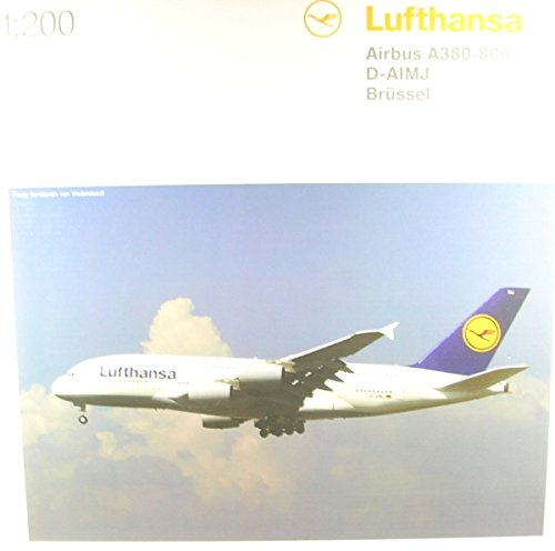herpa 550727-004 Lufthansa Airbus A380-800, Flugzeug