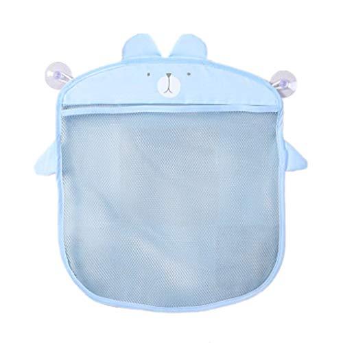 Sunlera Colgando de Almacenamiento de baño de Pared de Dibujos Animados Bolsas de Punto Red de Malla Bolsa del baño del bebé Juguetes Champú Organizador de contenedores