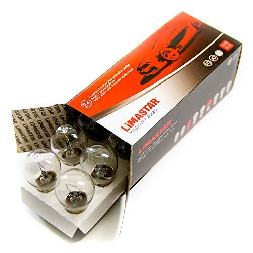 10 bombillas BAY15d S25 P21/5W BUS bombilla 21 W/5 W 24 V