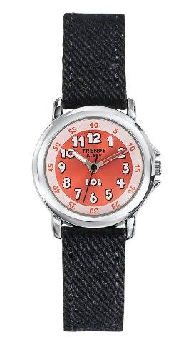 Trendy Kiddy Unisex Analog Quarz Uhr mit Textil Armband KL302
