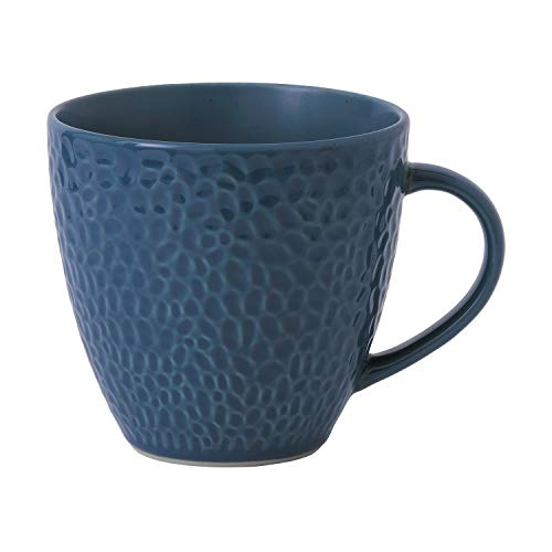 Gordon Ramsay exclusively for Royal Doulton 40034501 Maze Grill Collection Mug, 0.375 liters, Bleu