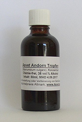 Asvet 100ml Andorn Tropfen, Tinktur, Extrakt, Konzentrat, ohne Chemie !