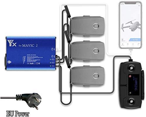 STARTRC Mavic 2 Cargador Multi-batería Inteligente y Equilibrado Batería Cargador para dji Mavic 2 Pro/Zoom