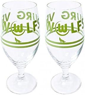VfL Wolfsburg Biertulpe,Glas 2er-Set