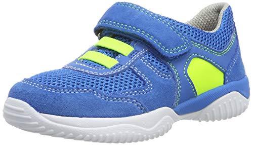 Superfit Jungen Storm Sneaker, Weiß (Blau/Gelb 81), 28 EU