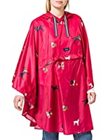 Packable poncho Joules designs Joules branding Contrast rope and toggle
