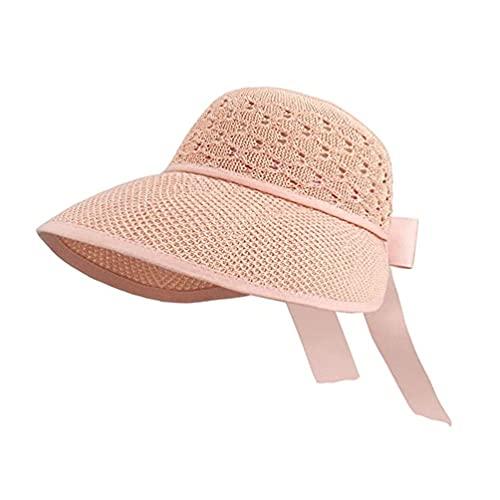 SOIMISS Sombrero de Paja para Mujer Sombrero de Bloque de (M)