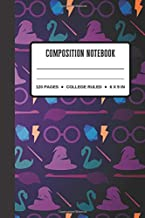 Composition Notebook: Magical Gift for Harry Potter Fans / College Ruled Notebook To Write In