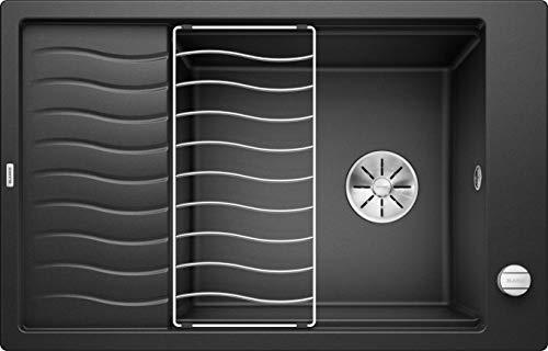 BLANCO 524834 Elon XL 6 S Küchenspüle, anthrazit, 60 cm Unterschrank