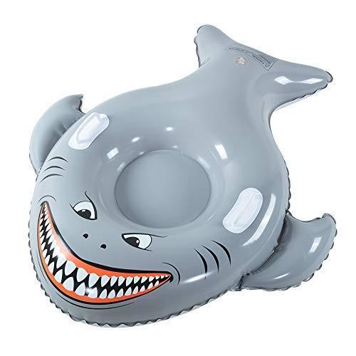 XFlated Meg Snow Tube, Inflatable Snow Tube Sled Heavy Duty, Megalodon Toy for Kids, Shark Toys, 50 Inches