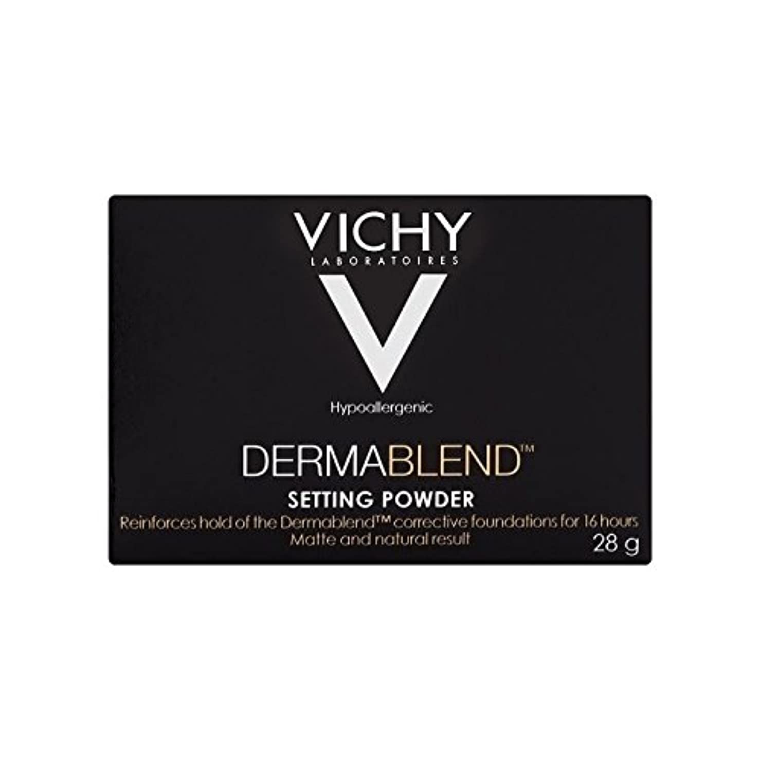 アーネストシャクルトン一貫した玉ねぎヴィシー設定粉末28グラム x4 - Vichy Dermablend Setting Powder 28g (Pack of 4) [並行輸入品]