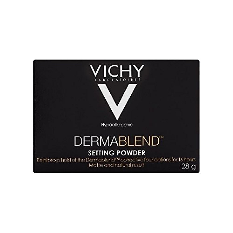 下品捧げる水分ヴィシー設定粉末28グラム x2 - Vichy Dermablend Setting Powder 28g (Pack of 2) [並行輸入品]