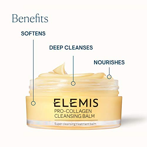 ELEMIS Pro-Collagen Cleansing Balm, Super Cleansing Treatment Balm, 0.70 Fl Oz