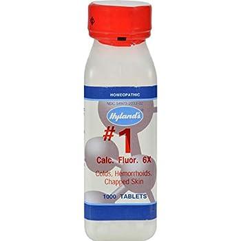 Hyland s # 1 Calc Fluor 6X Cell Salts 1,000 Tabs