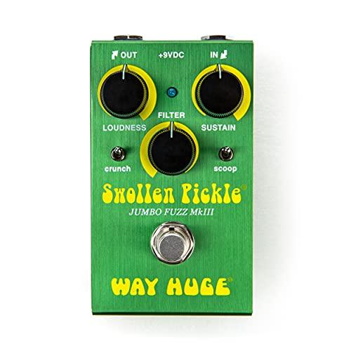 Way Huge Smalls Swollen Pickle Fuzz Guitar Effects Pedal (WM41)