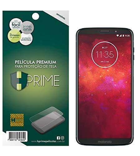 Pelicula Hprime invisivel para Motorola Moto Z3 Play, Hprime, Película Protetora de Tela para Celular, Transparente